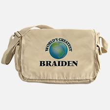 World's Greatest Braiden Messenger Bag
