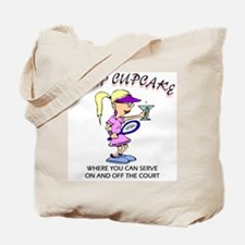 Camp Cupcake Serve Tote Bag