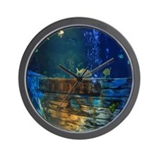 Underwater Sea life Wall Clock