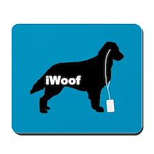 iWoof Flatcoat Mousepad