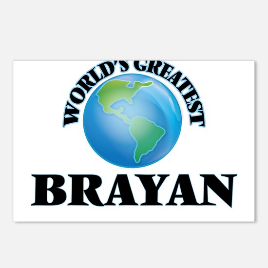World's Greatest Brayan Postcards (Package of 8)