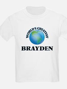World's Greatest Brayden T-Shirt