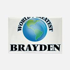 World's Greatest Brayden Magnets
