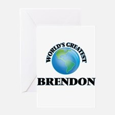 World's Greatest Brendon Greeting Cards