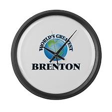 World's Greatest Brenton Large Wall Clock