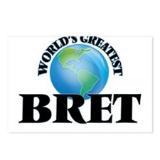 World's Greatest Bret Postcards (Package of 8)