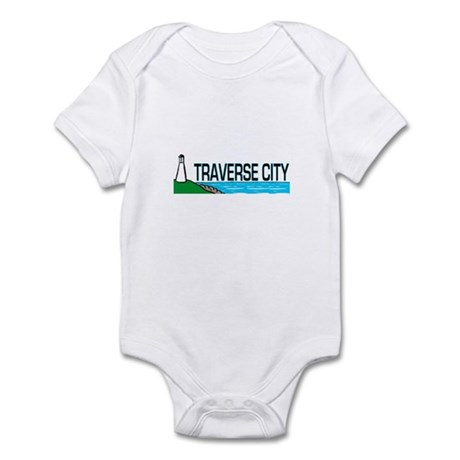 Traverse City, Michigan Infant Bodysuit