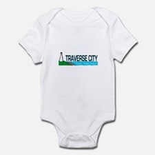 Traverse City, Michigan Infant Bodysuit