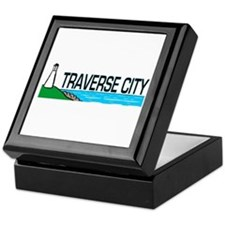 Traverse City, Michigan Keepsake Box