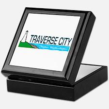 Traverse City, Michigan Keepsake Box