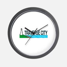Traverse City, Michigan Wall Clock