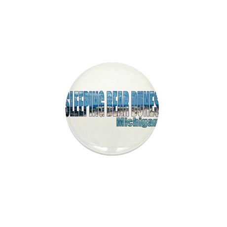 Sleeping Bear Dunes, Michigan Mini Button (100 pac