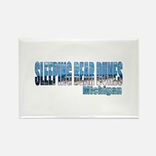 Sleeping Bear Dunes, Michigan Rectangle Magnet