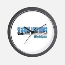 Sleeping Bear Dunes, Michigan Wall Clock