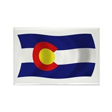 Colorado State Flag Rectangle Magnet (100 pack)