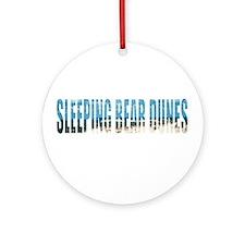 Sleeping Bear Dunes Ornament (Round)