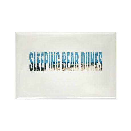 Sleeping Bear Dunes Rectangle Magnet