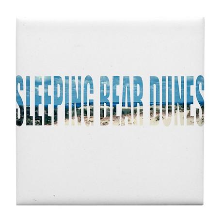 Sleeping Bear Dunes Tile Coaster