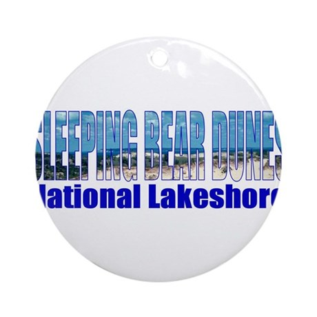 Sleeping Bear Dunes National Ornament (Round)
