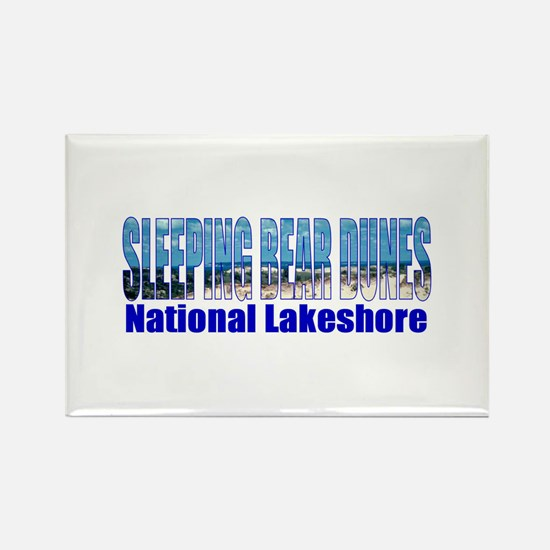 Sleeping Bear Dunes National Rectangle Magnet