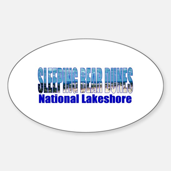 Sleeping Bear Dunes National Oval Decal