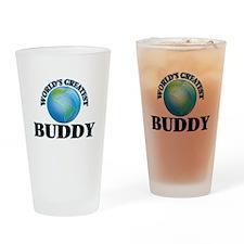 World's Greatest Buddy Drinking Glass