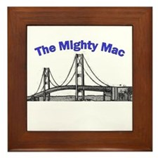 The Mighty Mac Framed Tile