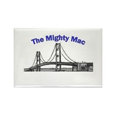 The Mighty Mac Rectangle Magnet (10 pack)