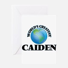 World's Greatest Caiden Greeting Cards