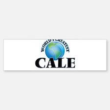 World's Greatest Cale Bumper Bumper Bumper Sticker