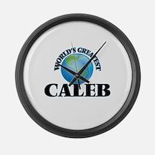 World's Greatest Caleb Large Wall Clock