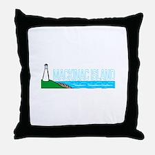 Mackinac Island Throw Pillow