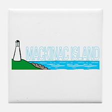 Mackinac Island Tile Coaster
