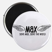 Max- Save Max, Save the World Magnet