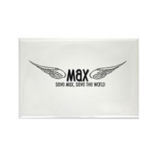 Max- Save Max, Save the World Rectangle Magnet