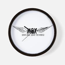 Max- Save Max, Save the World Wall Clock