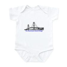 The Mackinac Bridge Infant Bodysuit
