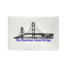 The Mackinac Bridge Rectangle Magnet (100 pack)