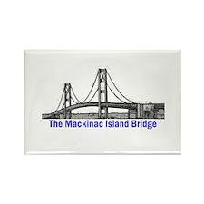 The Mackinac Bridge Rectangle Magnet (10 pack)