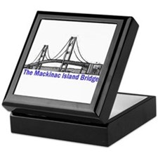 The Mackinac Bridge Keepsake Box