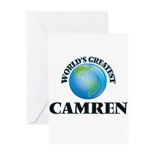 World's Greatest Camren Greeting Cards