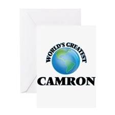 World's Greatest Camron Greeting Cards