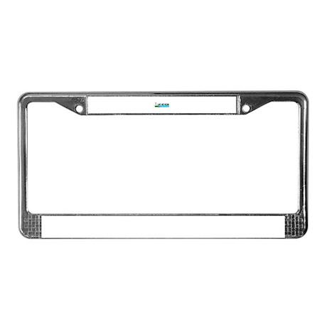 Lake Michigan License Plate Frame
