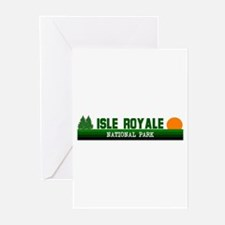 Isle Royale National Park Greeting Cards (Package