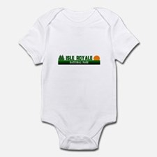 Isle Royale National Park Infant Bodysuit
