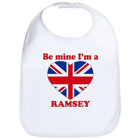 Ramsey, Valentine's Day Bib