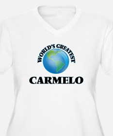World's Greatest Carmelo Plus Size T-Shirt
