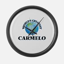 World's Greatest Carmelo Large Wall Clock