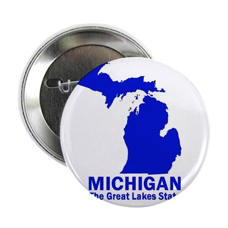 Michigan . . . The Great Lake Button