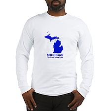 Michigan . . . The Great Lake Long Sleeve T-Shirt